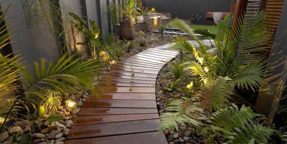 виды покрытия садовых дорожек
