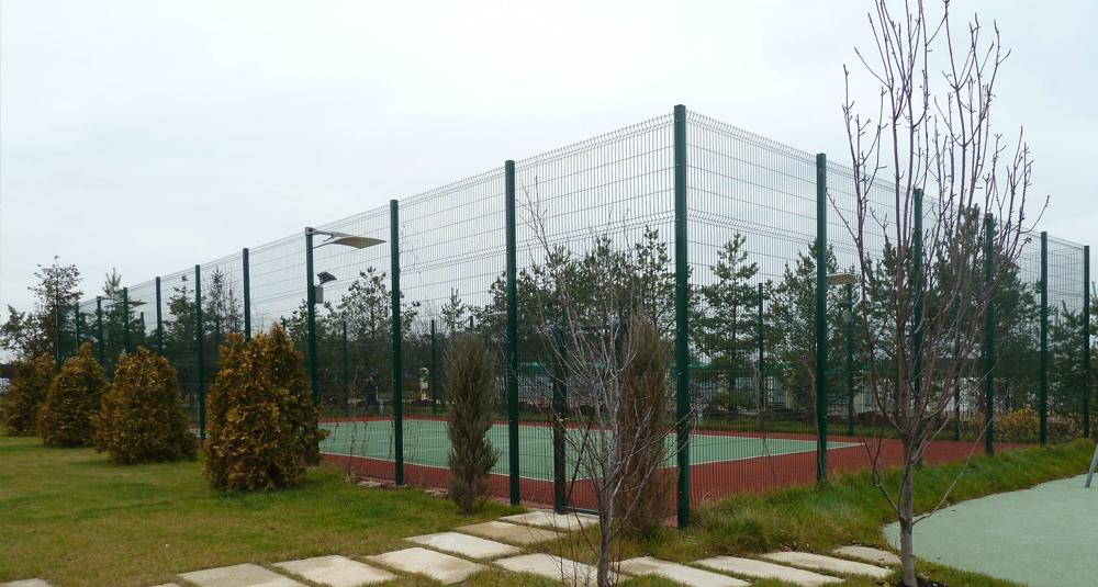 теннисный корт своими руками