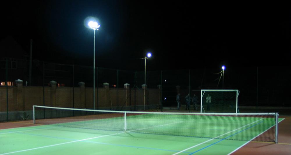 как сделать теннисный корт