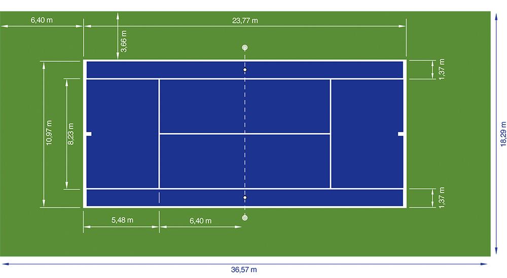нормы освещенности теннисного корта