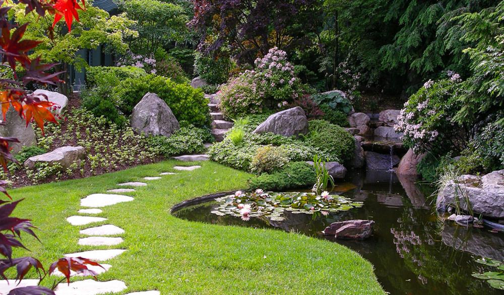как красиво оформить сад и огород